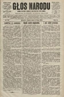 Głos Narodu : dziennik polityczny, założony w roku 1893 przez Józefa Rogosza (wydanie poranne). 1902, nr111