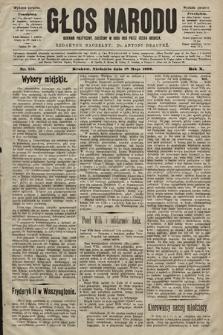 Głos Narodu : dziennik polityczny, założony w roku 1893 przez Józefa Rogosza (wydanie poranne). 1902, nr113
