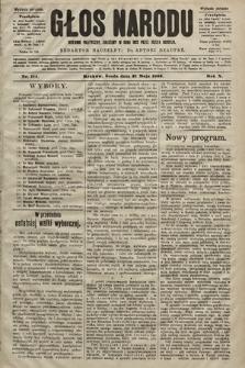 Głos Narodu : dziennik polityczny, założony w roku 1893 przez Józefa Rogosza (wydanie poranne). 1902, nr114