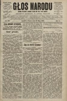 Głos Narodu : dziennik polityczny, założony w roku 1893 przez Józefa Rogosza (wydanie poranne). 1902, nr121