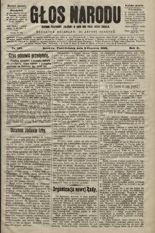 Głos Narodu : dziennik polityczny, założony w roku 1893 przez Józefa Rogosza (wydanie poranne). 1902, nr123