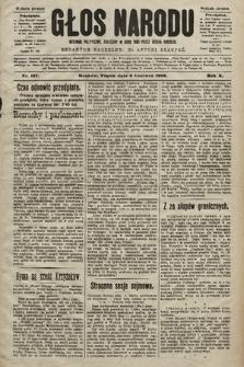 Głos Narodu : dziennik polityczny, założony w roku 1893 przez Józefa Rogosza (wydanie poranne). 1902, nr127