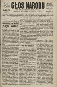 Głos Narodu : dziennik polityczny, założony w roku 1893 przez Józefa Rogosza (wydanie poranne). 1902, nr129
