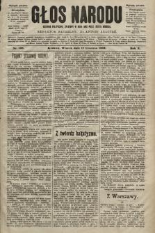 Głos Narodu : dziennik polityczny, założony w roku 1893 przez Józefa Rogosza (wydanie poranne). 1902, nr136