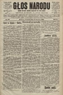 Głos Narodu : dziennik polityczny, założony w roku 1893 przez Józefa Rogosza (wydanie poranne). 1902, nr138