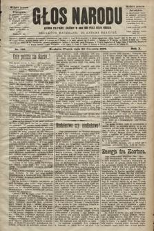 Głos Narodu : dziennik polityczny, założony w roku 1893 przez Józefa Rogosza (wydanie poranne). 1902, nr139