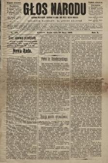 Głos Narodu : dziennik polityczny, założony w roku 1893 przez Józefa Rogosza (wydanie wieczorne). 1902, nr120