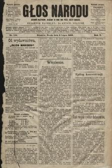 Głos Narodu : dziennik polityczny, założony w roku 1893 przez Józefa Rogosza (wydanie poranne). 1902, nr149