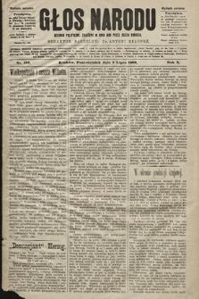 Głos Narodu : dziennik polityczny, założony w roku 1893 przez Józefa Rogosza (wydanie poranne). 1902, nr153