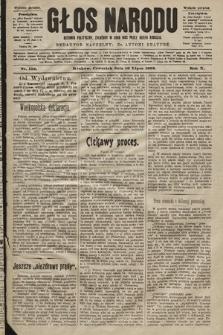 Głos Narodu : dziennik polityczny, założony w roku 1893 przez Józefa Rogosza (wydanie poranne). 1902, nr156