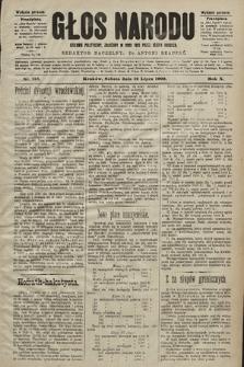 Głos Narodu : dziennik polityczny, założony w roku 1893 przez Józefa Rogosza (wydanie poranne). 1902, nr158