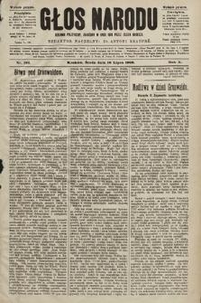 Głos Narodu : dziennik polityczny, założony w roku 1893 przez Józefa Rogosza (wydanie poranne). 1902, nr161