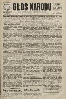 Głos Narodu : dziennik polityczny, założony w roku 1893 przez Józefa Rogosza (wydanie poranne). 1902, nr181