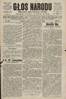 Głos Narodu : dziennik polityczny, założony w roku 1893 przez Józefa Rogosza (wydanie poranne). 1902, nr192