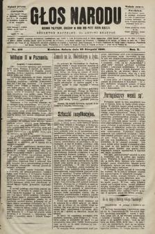 Głos Narodu : dziennik polityczny, założony w roku 1893 przez Józefa Rogosza (wydanie poranne). 1902, nr193