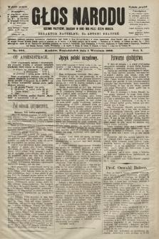 Głos Narodu : dziennik polityczny, założony w roku 1893 przez Józefa Rogosza (wydanie poranne). 1902, nr200