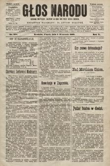 Głos Narodu : dziennik polityczny, założony w roku 1893 przez Józefa Rogosza (wydanie poranne). 1902, nr204