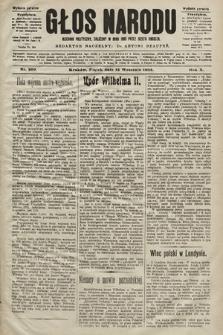 Głos Narodu : dziennik polityczny, założony w roku 1893 przez Józefa Rogosza (wydanie poranne). 1902, nr209