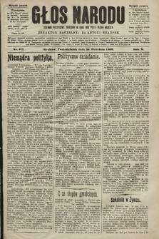 Głos Narodu : dziennik polityczny, założony w roku 1893 przez Józefa Rogosza (wydanie poranne). 1902, nr217
