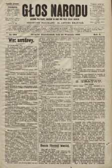 Głos Narodu : dziennik polityczny, założony w roku 1893 przez Józefa Rogosza (wydanie poranne). 1902, nr224