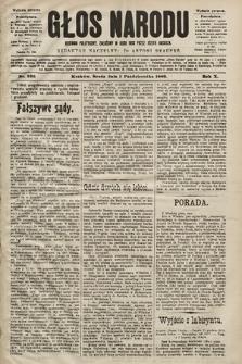 Głos Narodu : dziennik polityczny, założony w roku 1893 przez Józefa Rogosza (wydanie poranne). 1902, nr226