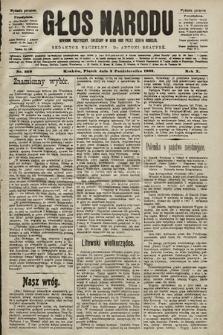 Głos Narodu : dziennik polityczny, założony w roku 1893 przez Józefa Rogosza (wydanie poranne). 1902, nr228