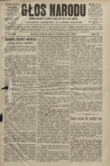 Głos Narodu : dziennik polityczny, założony w roku 1893 przez Józefa Rogosza (wydanie poranne). 1902, nr236