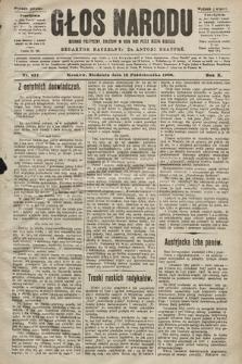 Głos Narodu : dziennik polityczny, założony w roku 1893 przez Józefa Rogosza (wydanie poranne). 1902, nr237