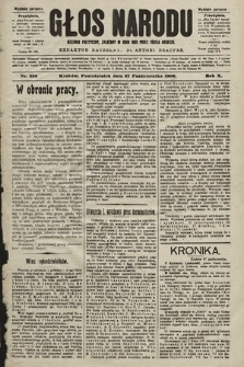 Głos Narodu : dziennik polityczny, założony w roku 1893 przez Józefa Rogosza (wydanie poranne). 1902, nr252