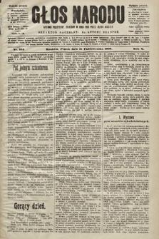 Głos Narodu : dziennik polityczny, założony w roku 1893 przez Józefa Rogosza (wydanie poranne). 1902, nr256