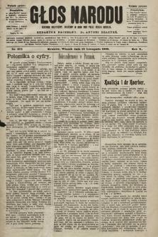 Głos Narodu : dziennik polityczny, założony w roku 1893 przez Józefa Rogosza (wydanie poranne). 1902, nr273