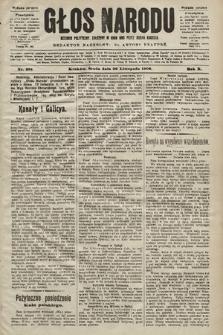 Głos Narodu : dziennik polityczny, założony w roku 1893 przez Józefa Rogosza (wydanie poranne). 1902, nr281