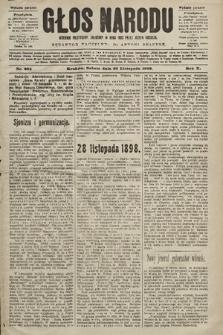 Głos Narodu : dziennik polityczny, założony w roku 1893 przez Józefa Rogosza (wydanie poranne). 1902, nr284