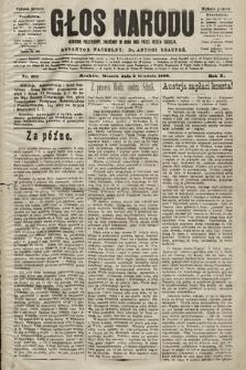 Głos Narodu : dziennik polityczny, założony w roku 1893 przez Józefa Rogosza (wydanie poranne). 1902, nr287