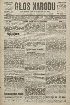 Głos Narodu : dziennik polityczny, założony w roku 1893 przez Józefa Rogosza (wydanie poranne). 1902, nr290