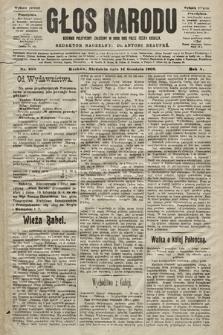 Głos Narodu : dziennik polityczny, założony w roku 1893 przez Józefa Rogosza (wydanie poranne). 1902, nr298