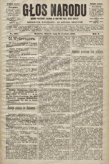 Głos Narodu : dziennik polityczny, założony w roku 1893 przez Józefa Rogosza (wydanie poranne). 1902, nr300