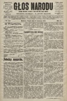Głos Narodu : dziennik polityczny, założony w roku 1893 przez Józefa Rogosza (wydanie poranne). 1902, nr303