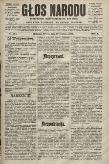 Głos Narodu : dziennik polityczny, założony w roku 1893 przez Józefa Rogosza (wydanie poranne). 1902, nr304