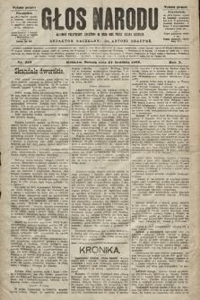 Głos Narodu : dziennik polityczny, założony w roku 1893 przez Józefa Rogosza (wydanie poranne). 1902, nr310