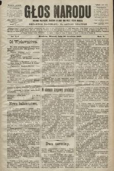 Głos Narodu : dziennik polityczny, założony w roku 1893 przez Józefa Rogosza (wydanie poranne). 1902, nr313