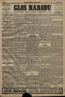 Głos Narodu. 1913, nr58