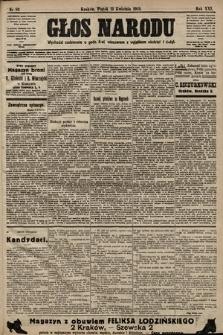 Głos Narodu. 1913, nr83