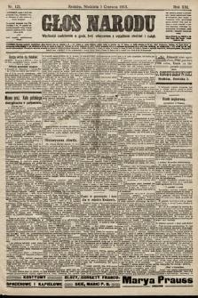 Głos Narodu. 1913, nr123