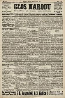 Głos Narodu. 1913, nr202