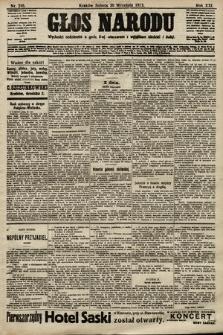 Głos Narodu. 1913, nr216