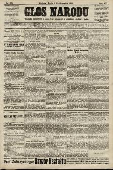 Głos Narodu. 1913, nr225