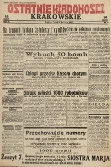 Ostatnie Wiadomości Krakowskie. 1933, nr6