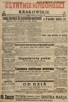 Ostatnie Wiadomości Krakowskie. 1933, nr17