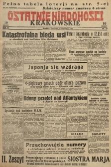 Ostatnie Wiadomości Krakowskie. 1933, nr19